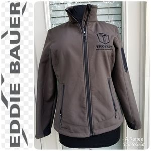 Eddie Bauer Jacket with Fleece Lining Size Medium
